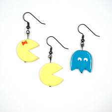 pacman earrings tetris earrings the hijinks ensue store