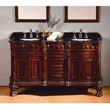 Bathroom Consoles And Vanities by Size Double Vanities 51 60 Inches Bathroom Vanities U0026 Vanity
