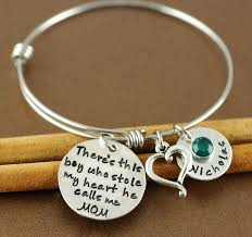 personalized bangle 225 best personalized bangle bracelets images on