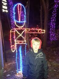 rock city lights up lookout mountain at christmas this travels