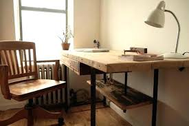 Stand Up Desk Office Industrial Office Desk Industrial Reclaimed Wood Stand Up Desk