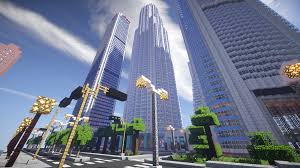 New York Minecraft Map by Minecraft Los Angeles Map Indiana Map Minecraft Skyscraperpage