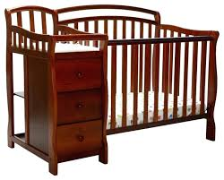 mini crib and changing table davinci kalani mini crib goodbit