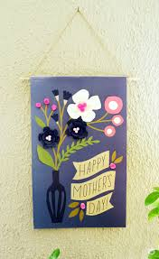 Mother S Day Greeting Card Handmade Handmade Touches For Your Mother U0027s Day Brunch Think Make Share
