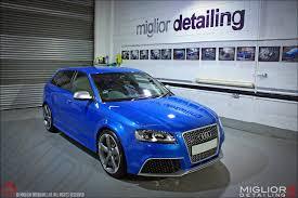 audi rs3 blue miglior detailing audi rs3 car detail sprint blue
