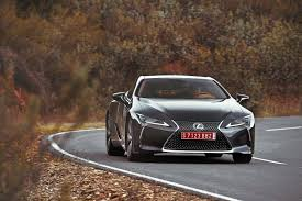 review 2018 lexus lc 500 shows future of the brand but lacks
