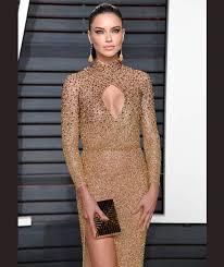 Vanity Fair Clothing Company Adriana Lima Arrives For The Vanity Fair Oscar Party Vanity Fair