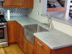 Concrete Kitchen Sink by Concrete Counter Tops With Farmhouse Sink Fixer To Fixed