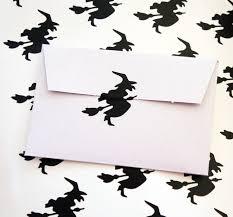 36 witch stickers halloween stickers witch decals envelope