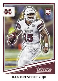 2017 panini classics nfl football cards checklist is live and