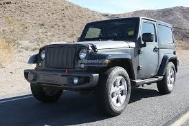 new jeep wrangler 2016 new 2018 jeep wrangler spied testing in the desert will grow in