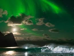 Northern Lights Football League Photo Of Mick Fanning Surfing Under The Northern Lights Business