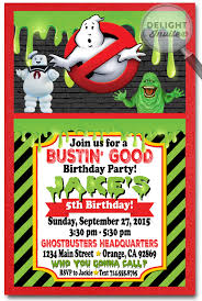 ghostbusters birthday invitations ghostbusters party pinterest