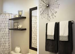 Unisex Bathroom Decor Black And White Accessories For Bathroom Home Design Ideas