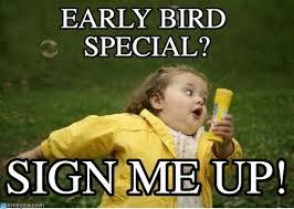 Special Meme - early bird special chubby bubbles girl meme on memegen