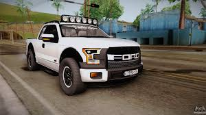 ford raptor rally truck ford raptor for gta san andreas