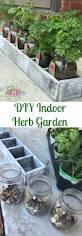 Herb Planter Indoor Diy Indoor Window Herb Garden Just Plum Crazy
