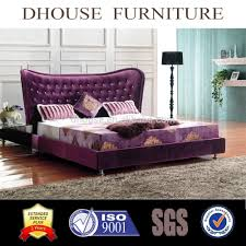 Italian Luxury Bedroom Furniture by Italian Luxury Neoclassical Bedroom Furniture Purple Fabric Bed