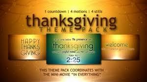 thanksgiving verses countdown centerline new media