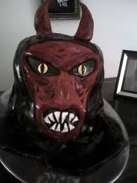 devil face birthday cake for my nephew jacob sandy u0027s cakes