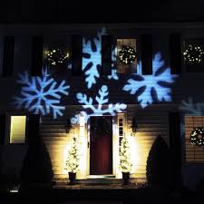 Lighted Snowflakes Outdoor by Outdoor Led Snowflake Christmas Light Projector With Remote