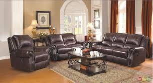 Recliner Leather Sofa Set Power Reclining Leather Sofa And Loveseat Sets Catosfera Net
