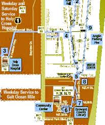 broward central cus map directions maps