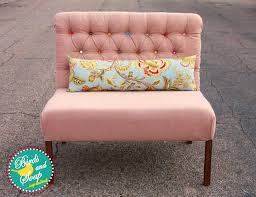 ana white upholstered settee diy projects