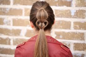 cute girl hairstyles diy cute heart ponytail valentine s day hairstyles cute girls hairstyles