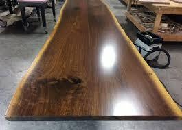 Walnut Slab Table Walnut Slab Table Urban Edge Woodworks
