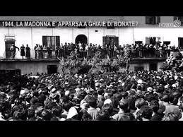 santuario ghiaie di bonate 1944 la madonna 礙 apparsa a ghiaie di bonate