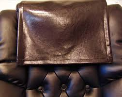 Leather Sofa Headrest Covers Etsy Your Place To Buy And Sell All Things Handmade