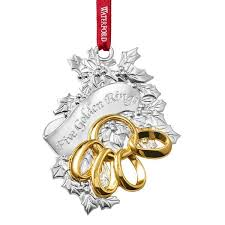 2015 waterford twelve days of five golden rings silver