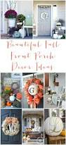 Fall Decorations For Outside The Home 15 Ways To Have The Prettiest Fall Porch On The Block Crazy Life