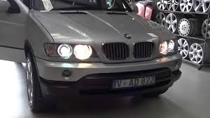 Bmw X5 Upgrades - bmw x5 e53 update black projector headlights with angle eye rings
