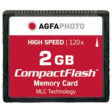 Memory Card Nikon D70 agfaphoto 2gb compact flash memory card for nikon d70