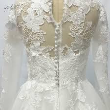 2017 retro christmas lace tea length wedding dresses long sleeve