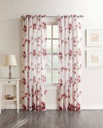 Crushed Sheer Voile Curtains by Amazon Com No 918 Kiki Floral Crushed Sheer Voile Curtain Panel
