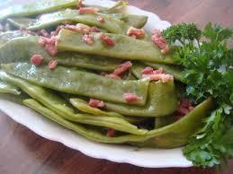 cuisiner des haricots plats haricots plats braisés aux lardons astuces et recettes de cuisine