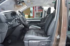 toyota proace verso toyota proace verso front seats at the 2016 geneva motor show