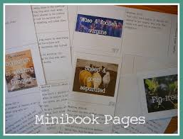 minibook practical pages