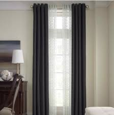 Blackout Curtains For Bedroom Royal Velvet Plaza Grommet Top Lined Blackout Curtain Panel 50