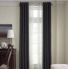 Black Out Curtain Panels Royal Velvet Plaza Grommet Top Lined Blackout Curtain Panel 50