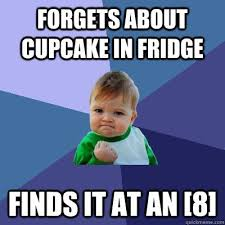 Cupcake Memes - cool cupcake memes for s about cupcake in fridge finds it at an 8
