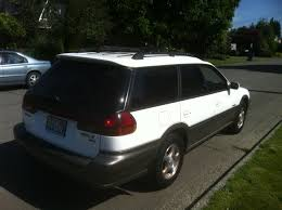 subaru outback white 1998 subaru outback limited awd auto sales