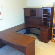 Computer Desk Costco by Find More U Shaped Desk With Hutch Bought From Costco Online