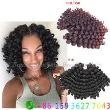 how many bags of pre twisted jaimaican hair is needed find more bulk hair information about 10inch jumpy wand curl