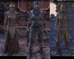 elder scrolls online light armor sets new orcish and redguard armor revamp pics elder scrolls online