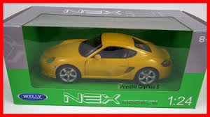 porsche toy car porsche cayman s welly 1 24 diecast scale model toy car for