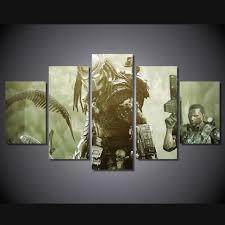 Christian Home Decor Wall Art Online Get Cheap Alien Paintings Aliexpress Com Alibaba Group